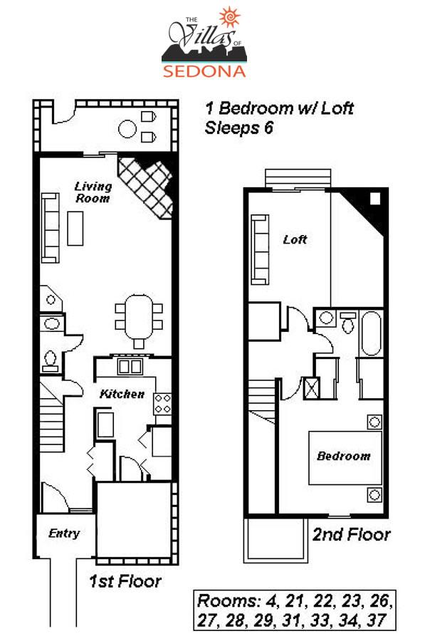 One Bedroom Loft: Villas Of Sedona Resort